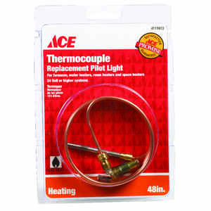 Ace  48 in. L 24 volt Universal Thermocouple