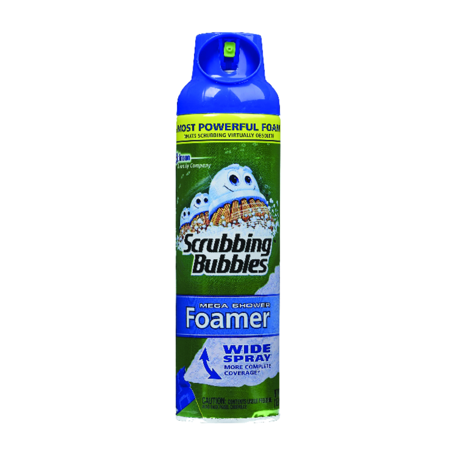 Scrubbing Bubbles  Mega Shower Foamer  No Scent Bathroom Cleaner  20 oz. Foam