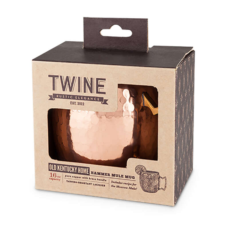 Twine  Old Kentucky Home  16 oz. Copper  Stainless Steel  Mule Mug