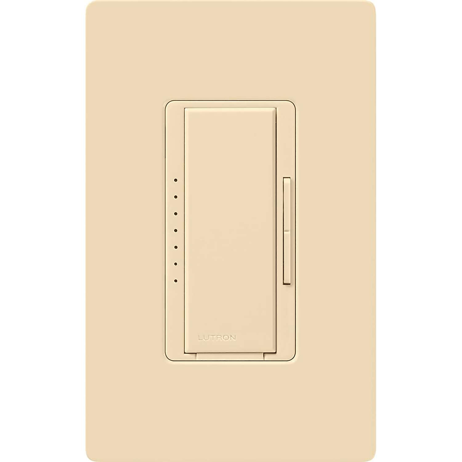 Lutron  Maestro  Ivory  150 watt 3-Way  Dimmer Switch  1 pk
