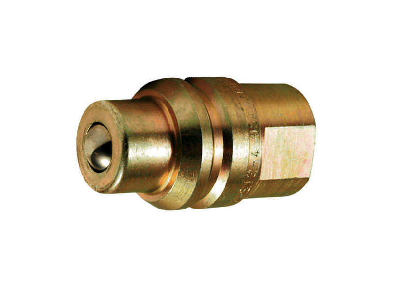Apache  Brass  Hydraulic Adapter  3/4 in. Dia. 1