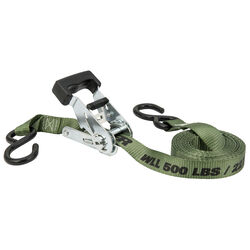 Keeper 1 in. W x 12 ft. L Green Tie Down Strap 500 lb. 1 pk