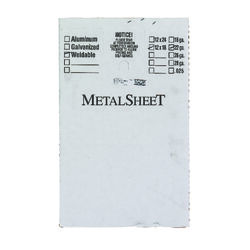 Boltmaster 12 in. Uncoated Steel Weldable Sheet