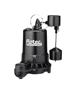 Flotec  1/2 hp 4800 gph Cast Iron  Submersible Sump Pump