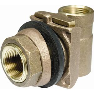 Parts 2O  Pitless Adapter  1 in.  x 4 in. L Brass