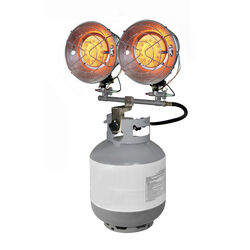 Dyna-Glo  30000 BTU/hr. 1960 sq. ft. Radiant  Liquid Propane  Tank Top Heater