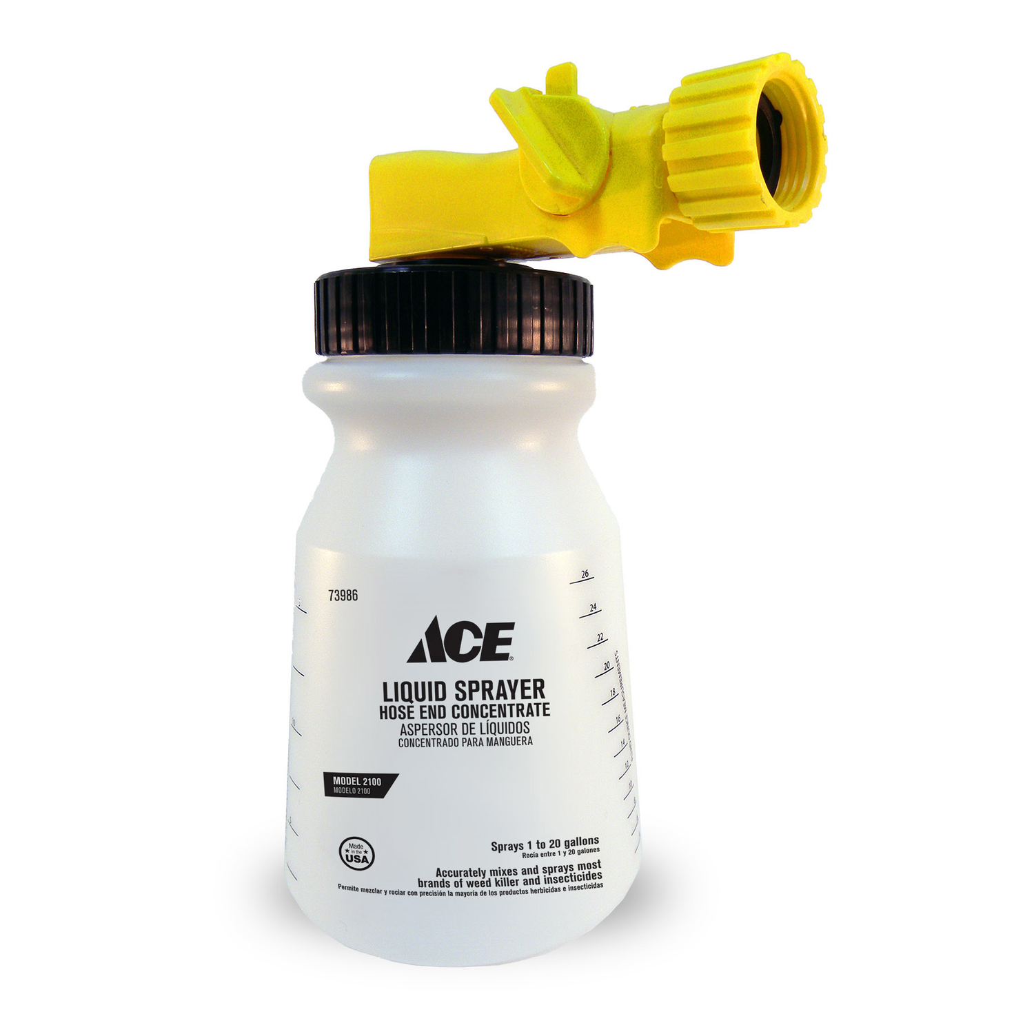 Ace  Hose End Sprayer  20 gal.