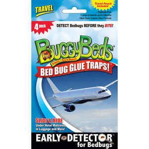 Buggy Beds  Travel  Glue Trap  4 pk