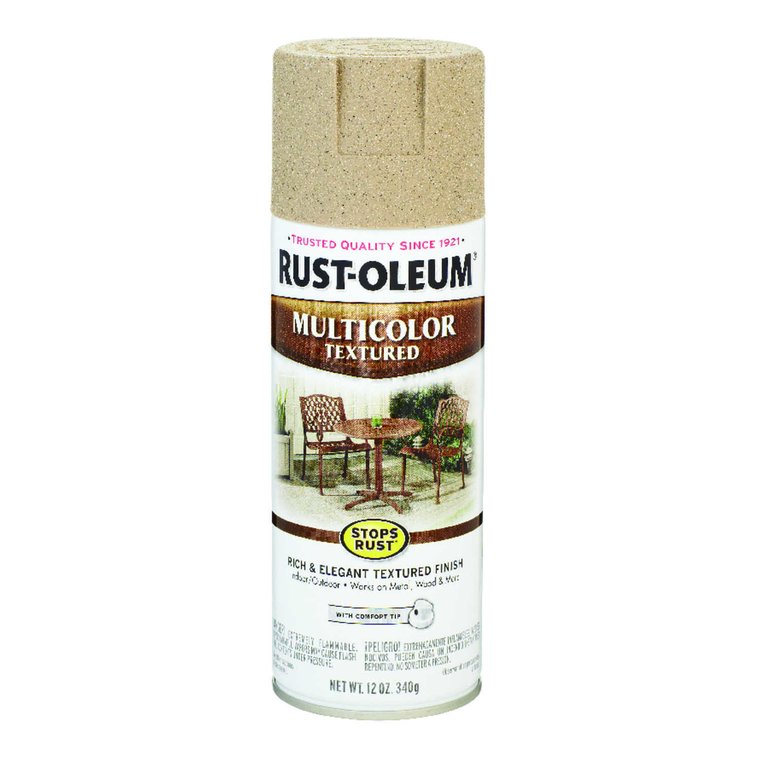 Rust-Oleum  Stops Rust  Desert Bisque  Spray Paint  12 oz.