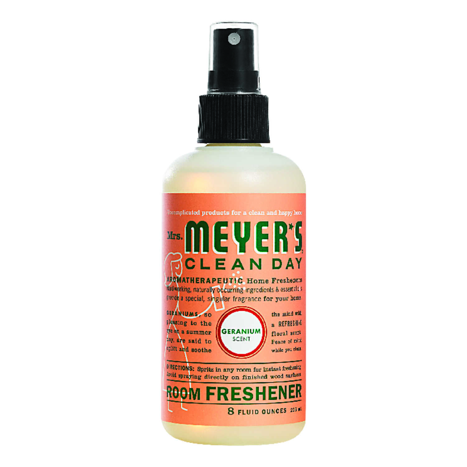 Mrs. Meyer's  Clean Day  Geranium Scent Air Freshener Spray  8 oz. Liquid