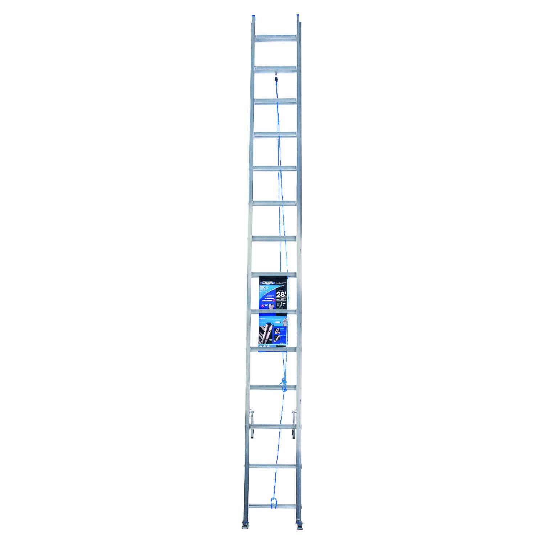 Werner 28 ft. H x 17.33 in. W Aluminum Extension Ladder