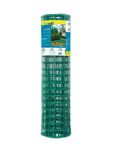 Garden Zone Garden Fence 36 in. x 50 ft. Steel 2 in. x 3 in. 16 Ga Green Bulk 36 in. 50 ft.