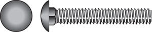 Hillman  3/8 in. Dia. x 5 in. L Zinc-Plated  Steel  Carriage Bolt  50 pk