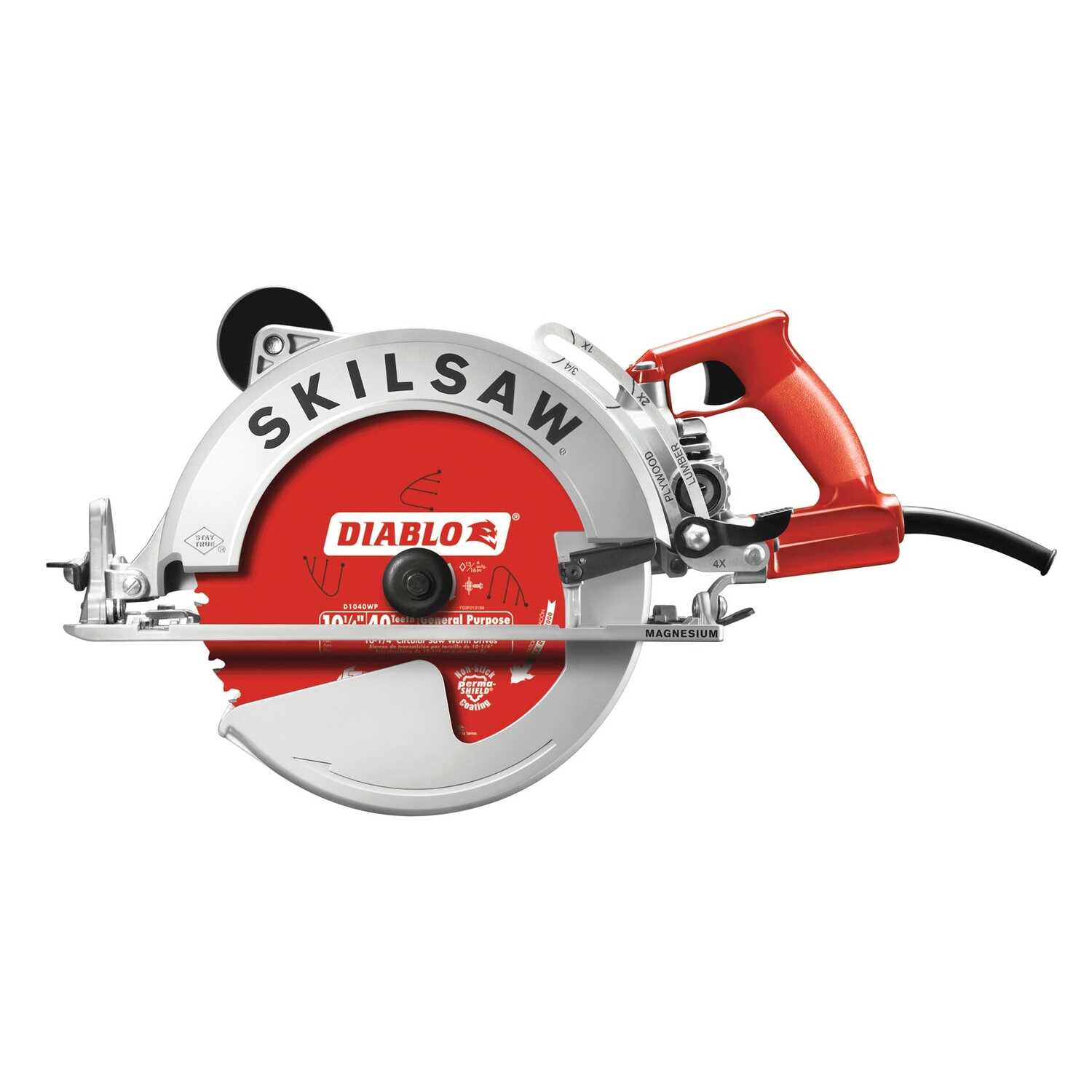 SKILSAW  Sawsquatch  7-1/4 in. 15 amps Corded  Worm Drive Circular Saw  120 volt 5300 rpm