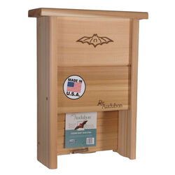 Woodlink  16 in. H x 12 in. W x 4.25 in. L Cedar  Bat House