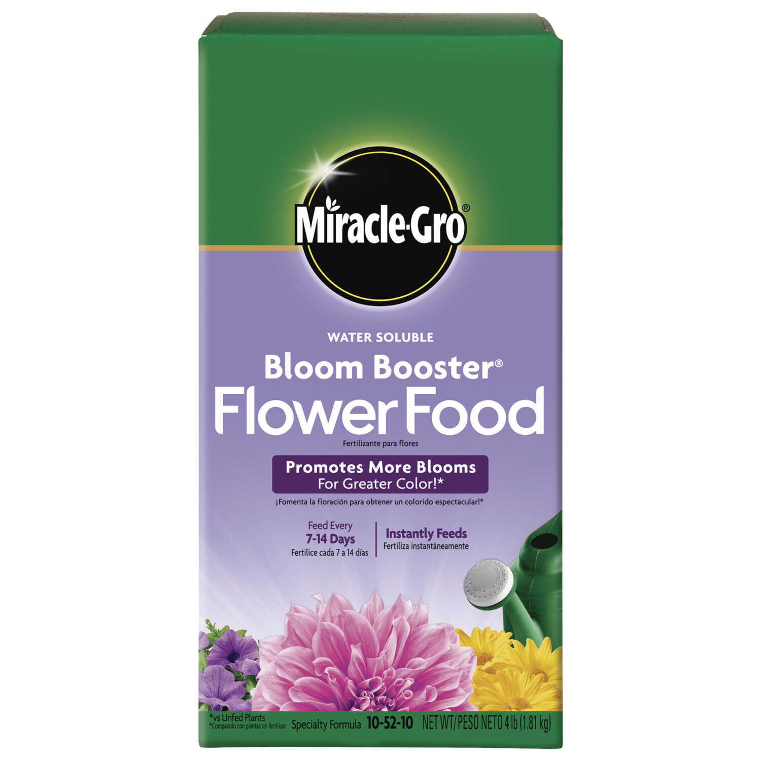 Miracle Gro Bloom Booster Powder Plant Food 4 Lb Ace Hardware