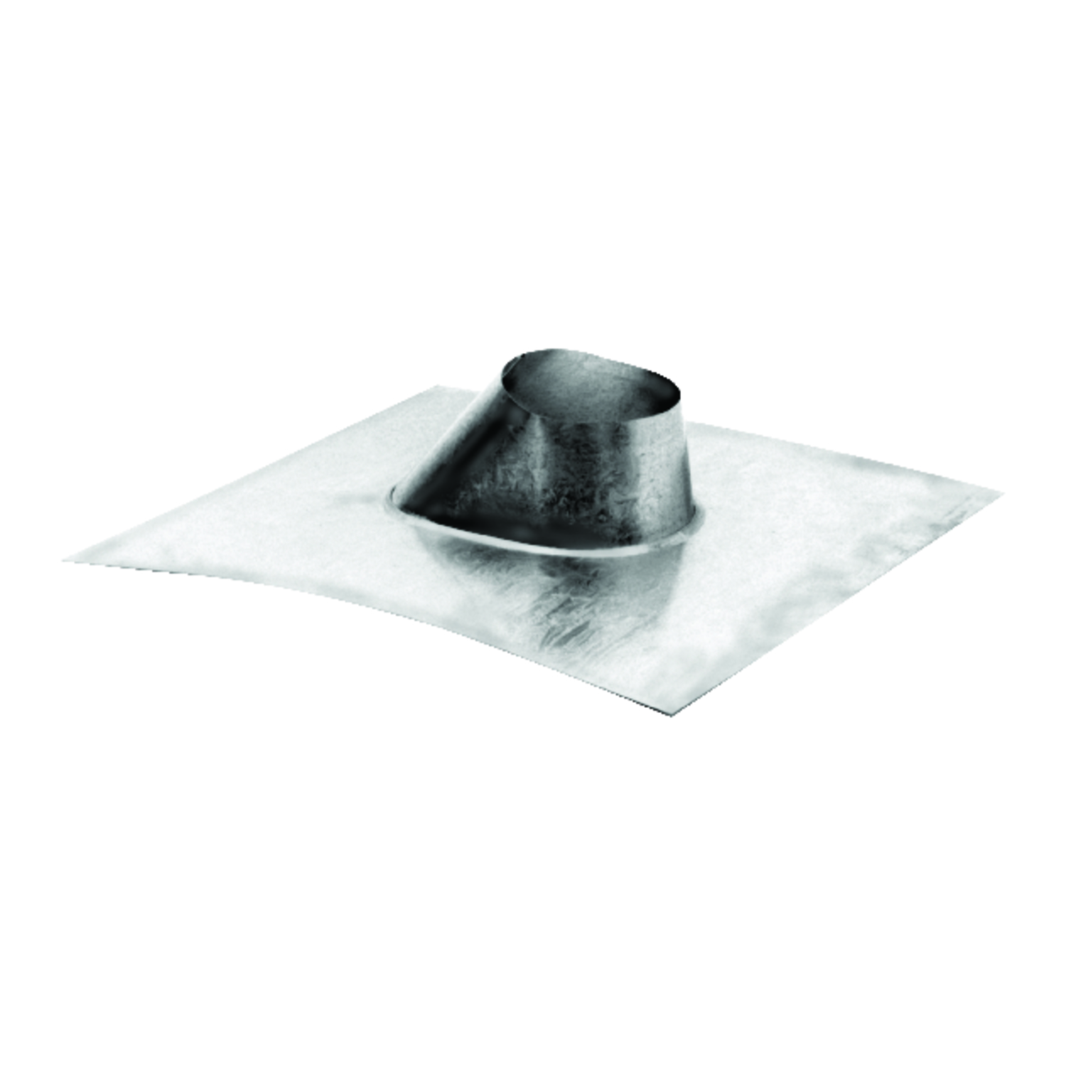 Duravent  4 in. H x 4 in. W x 4 in. L Silver  Square  Pelvent Roof Flashing  Steel