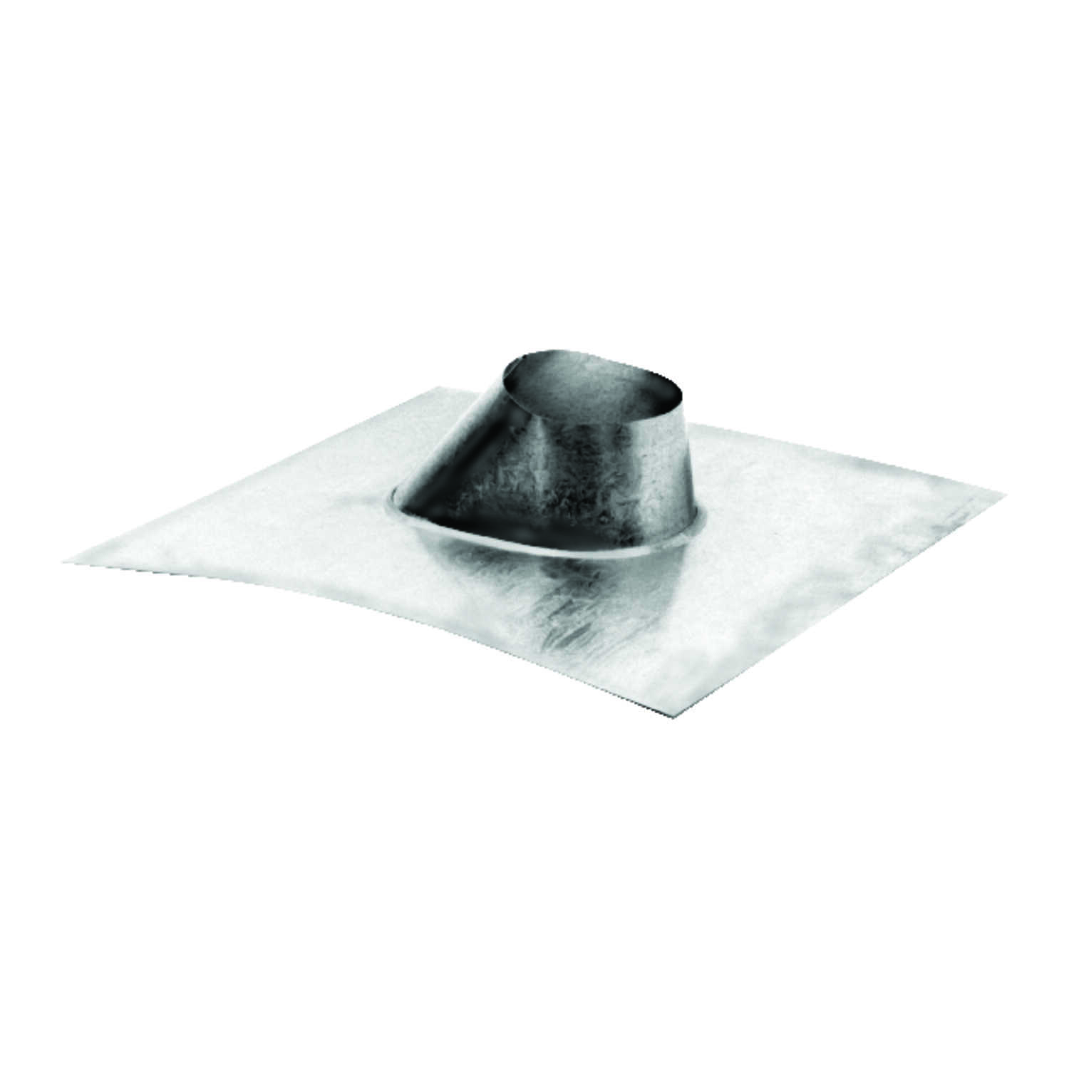 DuraVent  4 in. H x 4 in. W x 4 in. L Silver  Steel  Square  Pelvent Roof Flashing