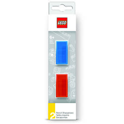 Lego  Blue/Red  Manual  Pencil Sharpener
