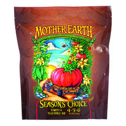 Mother Earth  Seasons Choice Tomato And Vegetable Mix 4-5-6  Hydroponic Plant Nutrients  4.4 lb.