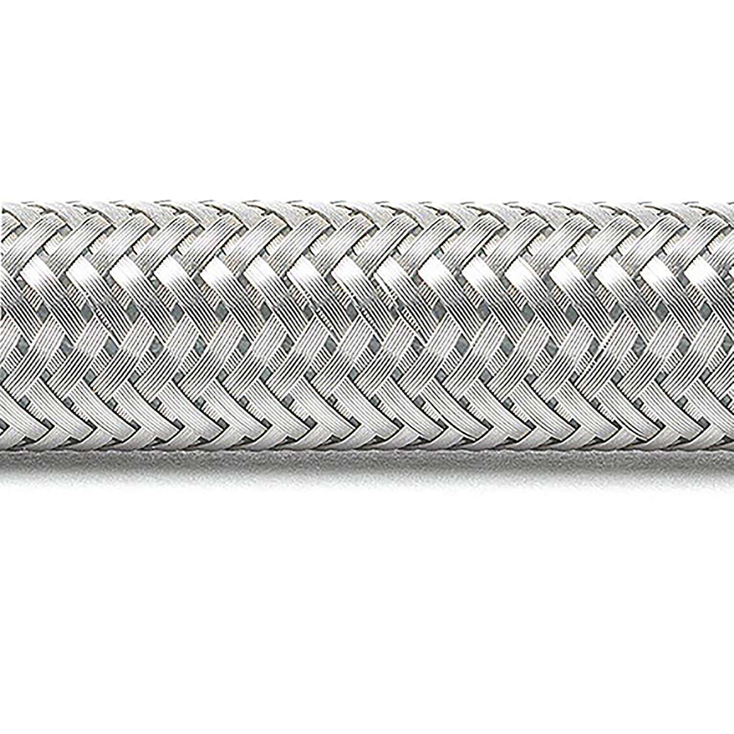 Ace  3/8 in. Compression   x 1/2 in. Dia. x 30 in. L FIP  Braided Stainless Steel  For Faucet supply