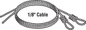 Prime-Line  25 in. L 75 lb. Torsion Spring Cable