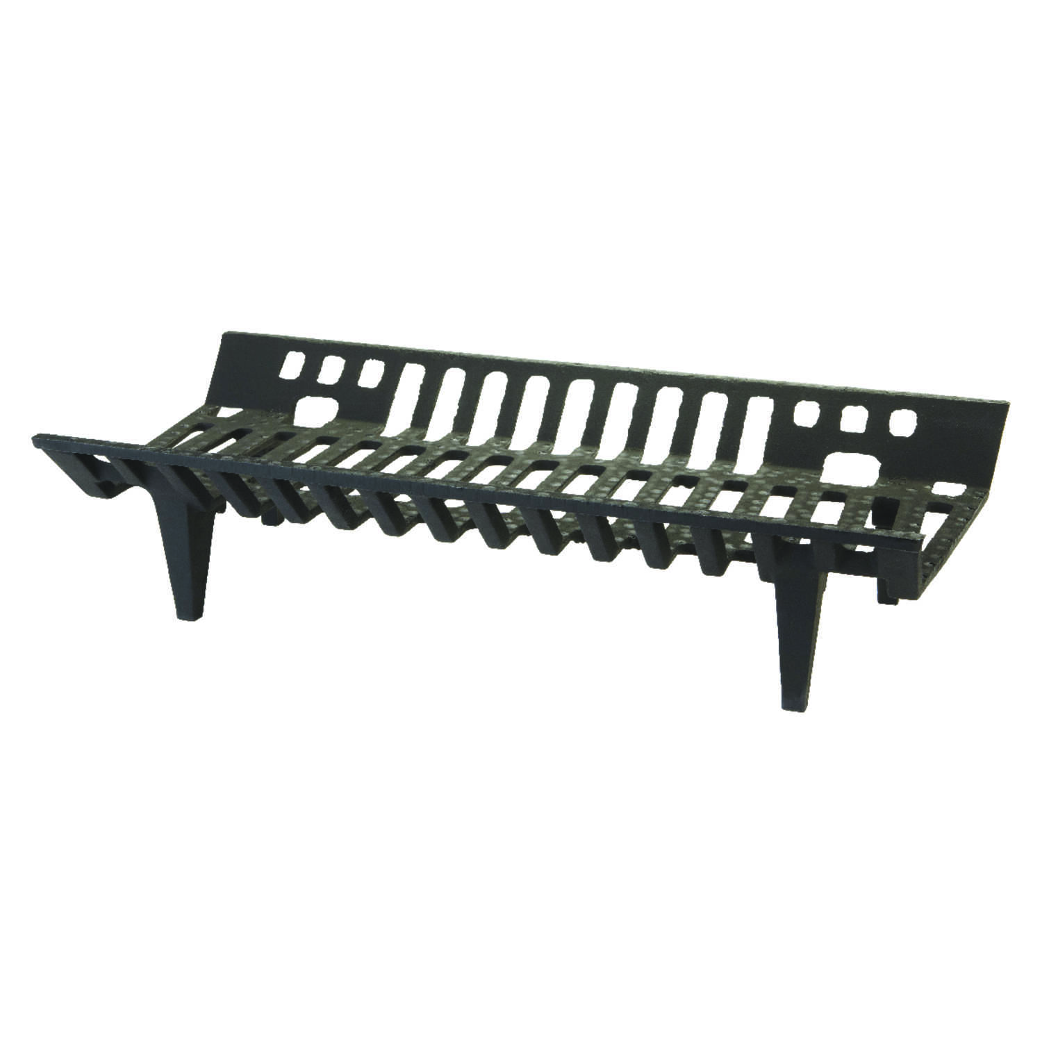 Vestal  Black  Painted  Fireplace Grate  Cast Iron