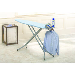 Homz 40.5 in. H x 14 in. W x 54 L Ironing Board Pad Included
