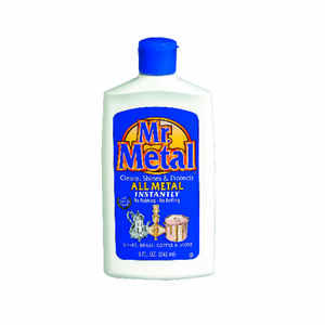Mr. Metal  Mild Scent Metal Cleaner  8 oz. Liquid
