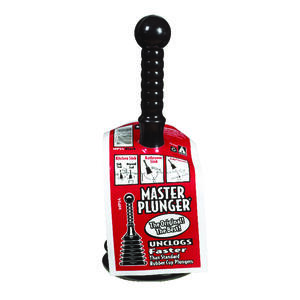 Master Plunger  Mini Toilet Plunger  12 in. L x 4 in. Dia.