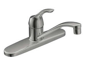 Moen  Adler  One Handle  Kitchen Faucet  Chrome
