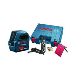 Bosch  2 beam Self Leveling Cross Line Laser  50 ft. 7 pc.