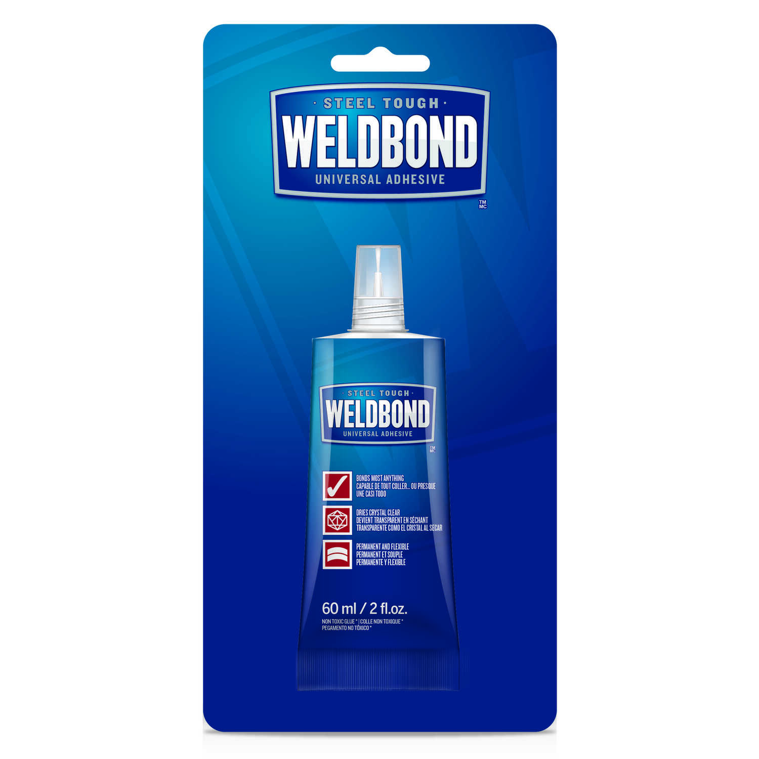 Weldbond  High Strength  Polyvinyl acetate homopolymer  All Purpose Adhesive  2 oz.