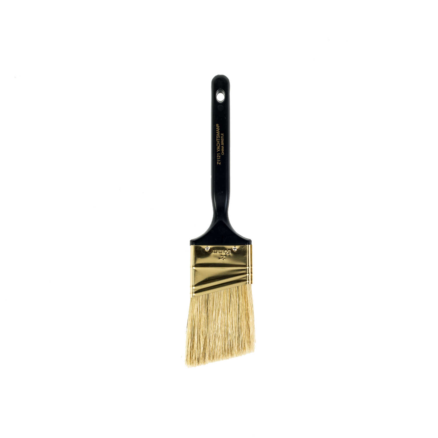 Wooster  Yachtsman  2 in. W Angle  White China Bristle  Paint Brush