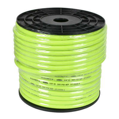 Flexzilla  250 ft. L x 3/8 in. Dia. Hybrid Polymer  Air Hose  300 psi Zilla Green