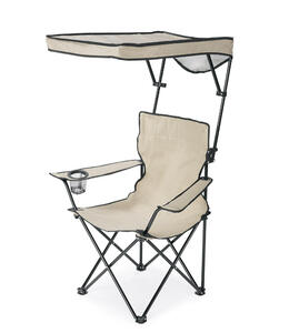 Quik Shade  Basic  Adjustable Taupe  Canopy Chair