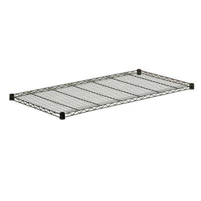 Honey Can Do  1 in. H x 48 in. W x 18 in. D Steel  Shelf Rack
