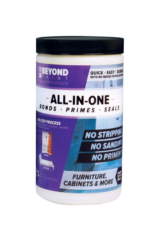 BEYOND PAINT  All-In-One  Matte  Soft Gray  Water-Based  Acrylic  1 qt. Paint