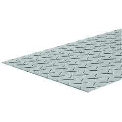 Boltmaster  24 in. Uncoated  Steel  Diamond Tread Plate