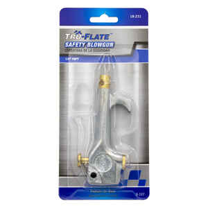 Tru-Flate  Steel  1/4  NPT  Air Blow Gun Safety Lever