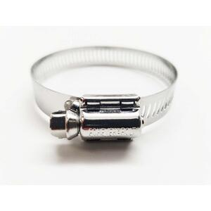 FOREVERBOLT  1-5/8 in. to 2 in. SAE 24  Silver  Hose Clamp  Stainless Steel  Band
