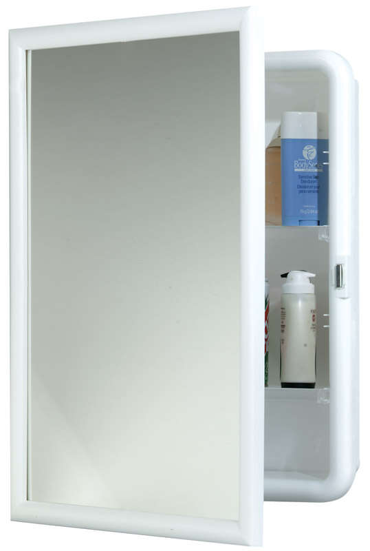 Zenith  22.38 in. H x 16.38 in. W x 5 in. D Rectangle  Medicine Cabinet