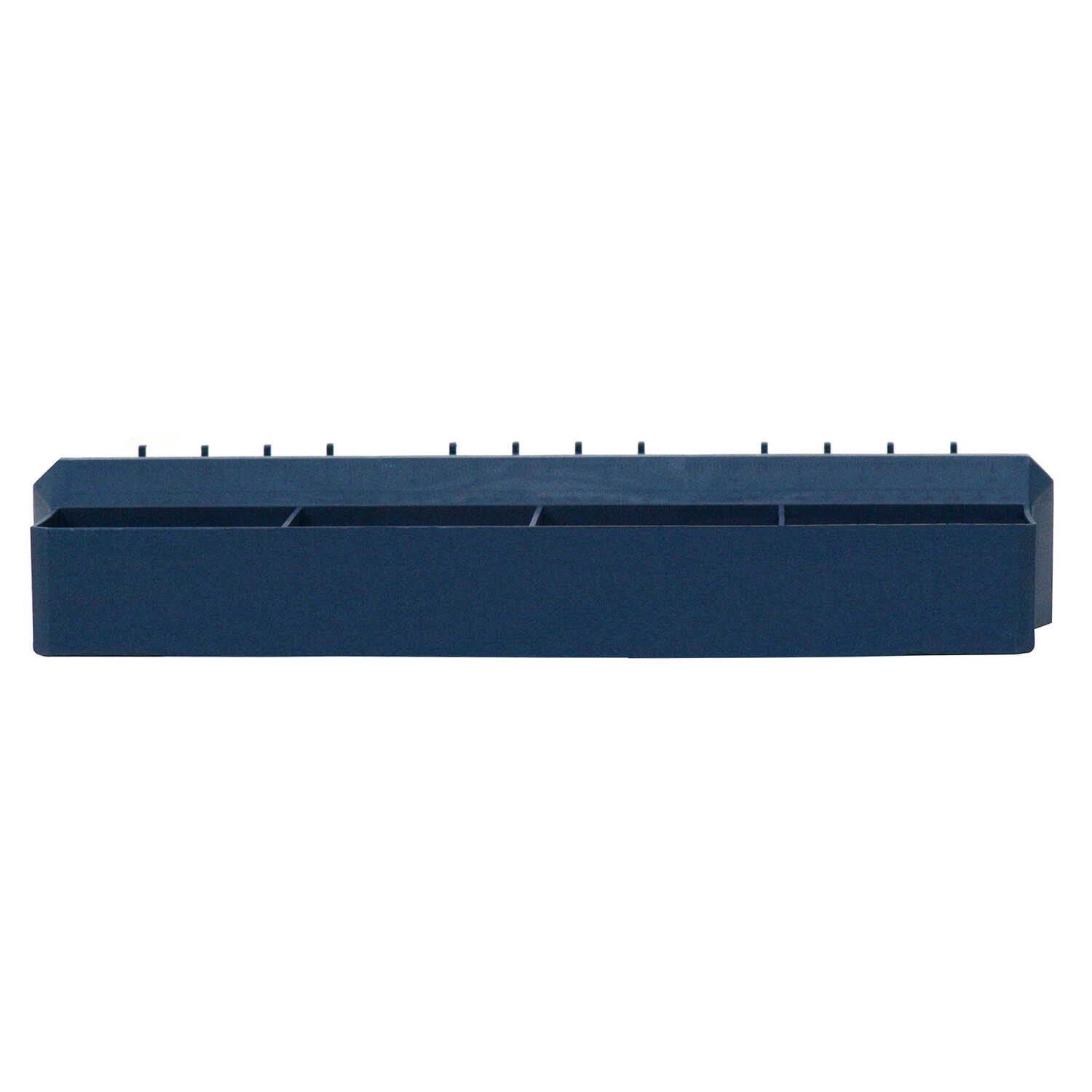 Crawford  Blue  Polypropylene  5.83 in. Tool and Parts Tray  1 pk