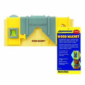 Wood Magnet  8 in. ABS  Joist  Level  3 vial