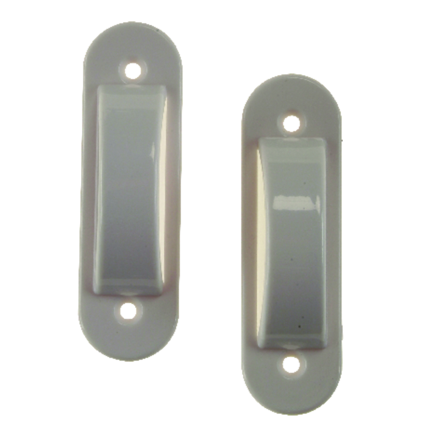 Amerelle  White  Plastic  Toggle  2 pk Switch Guard