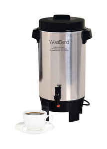 West Bend  42 cups Silver  Coffee Urn