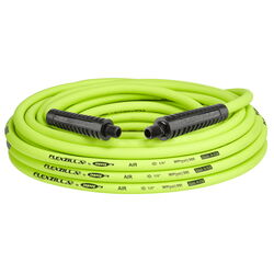 Flexzilla 50 ft. L x 1/4 in. Dia. Hybrid Polymer Air Hose 300 psi Zilla Green