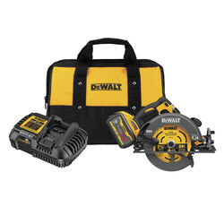 DeWalt FLEXVOLT 60 volt 7-1/4 in. Cordless Brushless Circular Saw Kit (Battery & Charger)