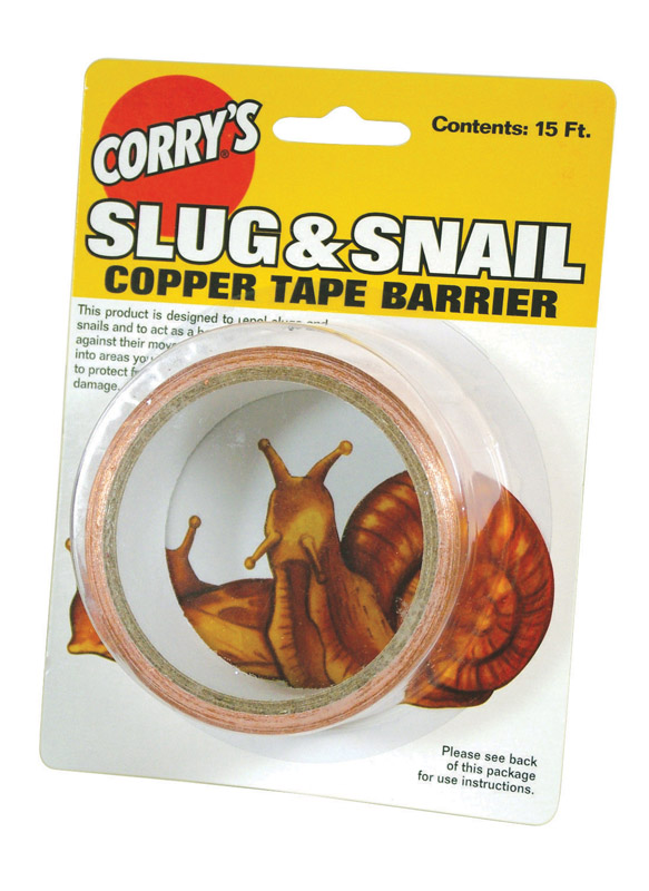 Corry's  For Slugs/Snails Copper Tape Barrier  15 ft.