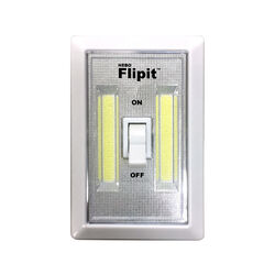 Nebo  Flipit  Manual  Battery Powered  LED  Night Light w/Switch